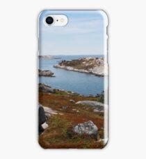 Fall on the Nova Scotia Coast iPhone Case/Skin