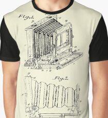 Folding Photographic Camera-1904 Graphic T-Shirt