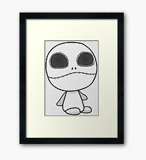 Cute Lil Jack Skellington Framed Print