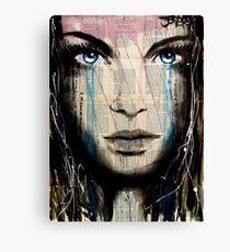 azalea blue Canvas Print