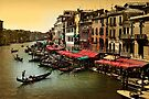 The Grand Canel of Venice, Italy by Daniel H Chui