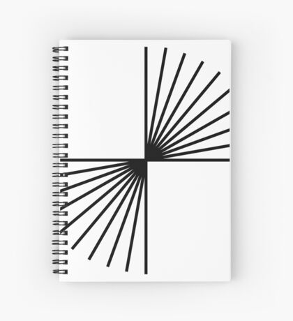 Helmholtz's angle expansion Spiral Notebook