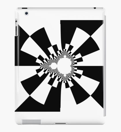 Mandelbrot XV - Black iPad Case/Skin