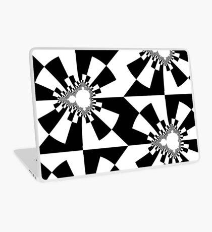Mandelbrot XV - Black Laptop Skin