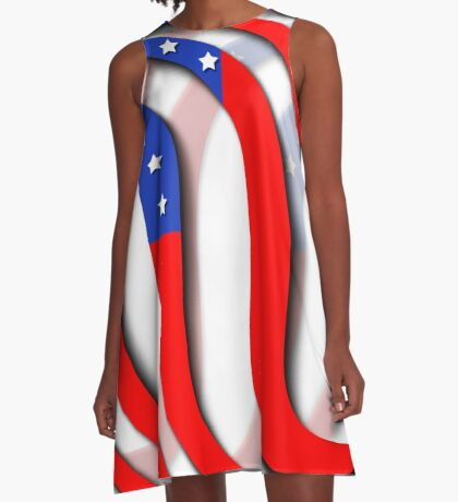 Independence Day A-Line Dress