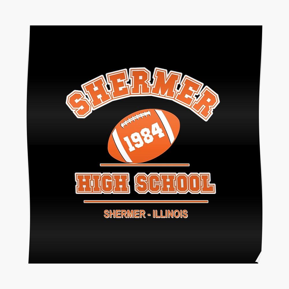Der Frühstücksclub - Shermer High 1984 ' Poster