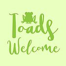 Toads welcome by jazzydevil