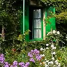 Home of Claude Monet in Giverny France by AnnDixon