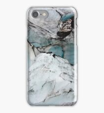 Glacier marble photo iPhone Case/Skin