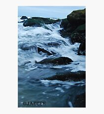 Streaming waves - Long Beach, NY Photographic Print