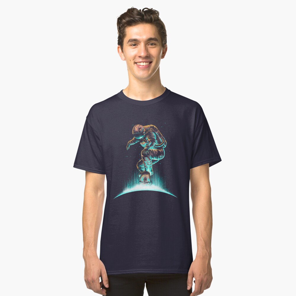 Space Grind Classic T-Shirt Front