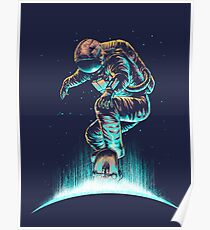 Space Grind Poster