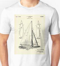 Sail Boat-1927 Unisex T-Shirt