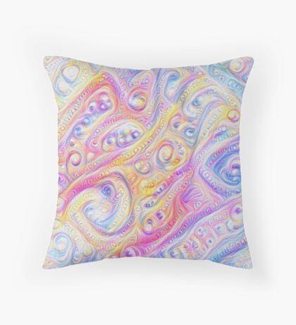 Summer day #DeepDream A Throw Pillow