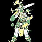 «Green shaman #2» de adriaguez