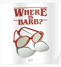 Where is Barb? Poster