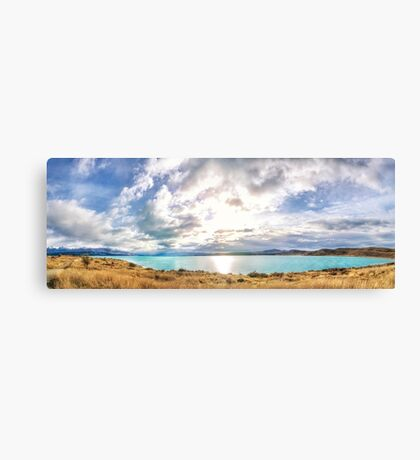 Lake Pukaki, New Zealand South Island Canvas Print