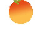Pixel Peach by slugspoon