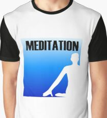 Meditation Graphic T-Shirt
