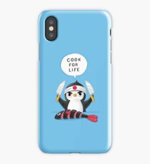 Penguin Chef iPhone Case
