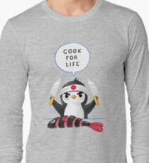Penguin Chef Long Sleeve T-Shirt