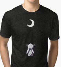 Moon Bunny Tri-blend T-Shirt