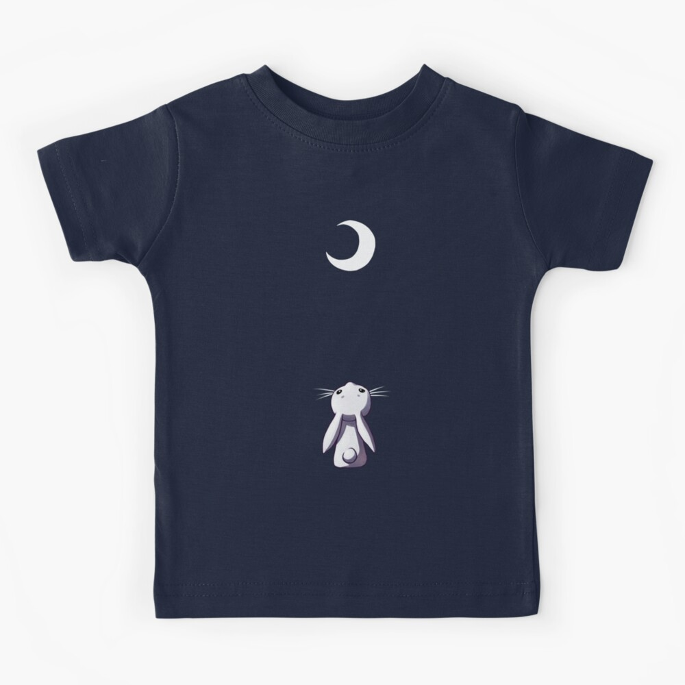Moon Bunny Kids T-Shirt