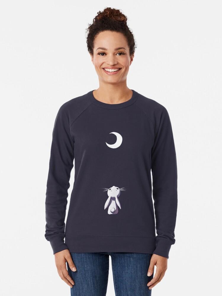 Vista alternativa de Sudadera ligera Moon Bunny