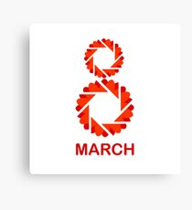 March 8- Womens day Canvas Print