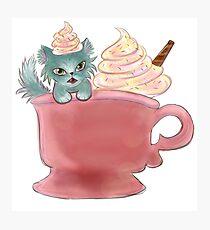 Vanilla Sprinkles Kitten  Photographic Print