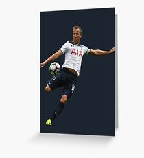 Harry Kane 2017 Tottenham Hotspur (Phone Case & More) Greeting Card