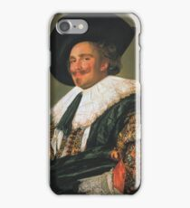 The Laughing Cavalier iPhone Case/Skin