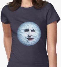Boosh Moon Womens Fitted T-Shirt