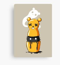 Matryoshka Monster Canvas Print