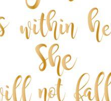 Psalms 46:5 watercolor Sticker