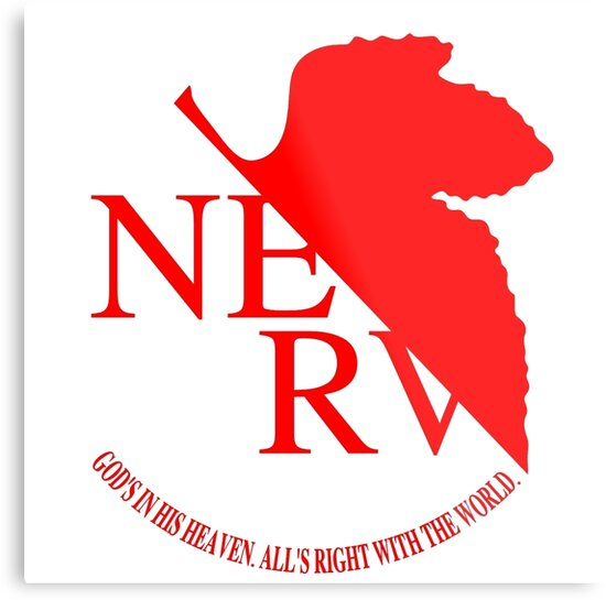 Nerv Logo Neon Genesis Evangelion By Imposibear