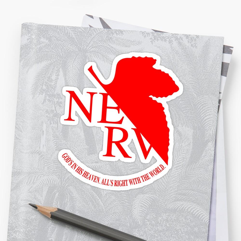 Nerv Logo, Neon Genesis Evangelion\