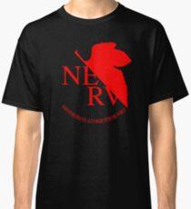 Nerv Logo, Neon Genesis Evangelion Classic T-Shirt