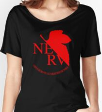 Nerv Logo, Neon Genesis Evangelion Women's Relaxed Fit T-Shirt