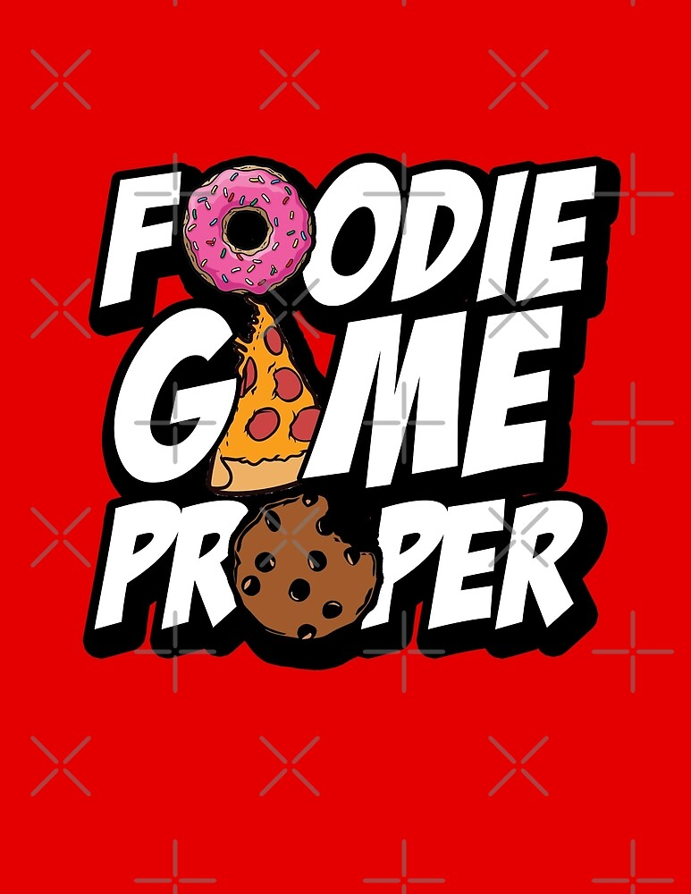 Foodie Game Proper by themarvdesigns