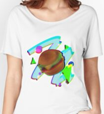 Retro Burg Women's Relaxed Fit T-Shirt