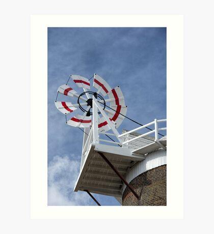 Cley Windmill Fantail Art Print