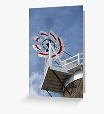 Cley Windmill Fantail Greeting Card