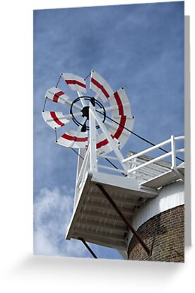 Cley Windmill Fantail by cleywindmill