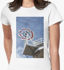 Cley Windmill Fantail Women's Fitted T-Shirt