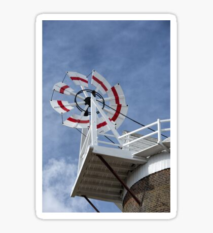 Cley Windmill Fantail Sticker