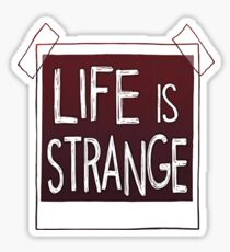 Life Is Strange - Square Logo Sticker