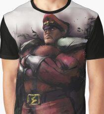 M. Bison Master Graphic T-Shirt