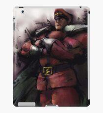 M. Bison Master iPad Case/Skin