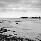 A time to rest. Tides out at Wells Next To Sea by Darren Burroughs